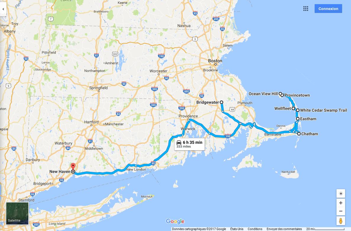 Itinéraire jour 9