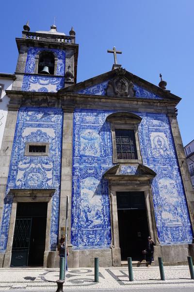 La Capela das Almas, dans la Rua de Santa Catarina