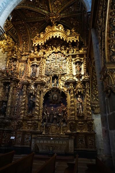 Un exemple de dorure dans l'Igreja São Francisco