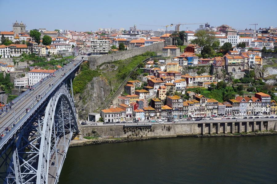 Le pont Dom Luis et la vieille ville