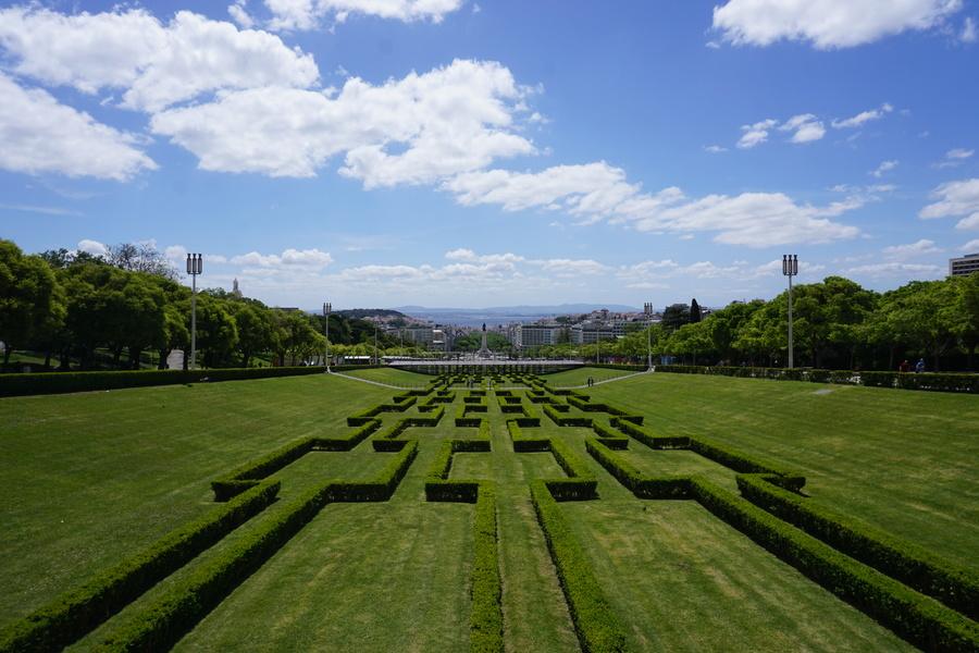Le parc Edouard VII