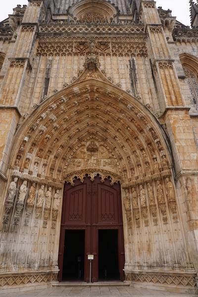 Entrée du monastère de Batalha