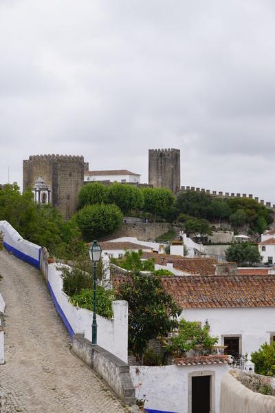 Le château d'Obidos