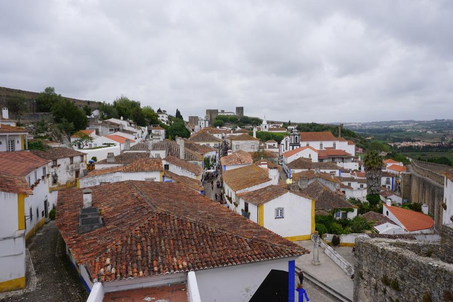 Les toits d'Obidos
