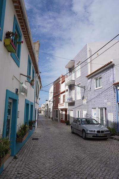 Une petite rue de Peniche
