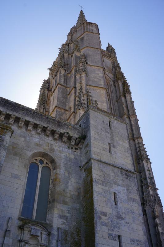 L'église de Marennes
