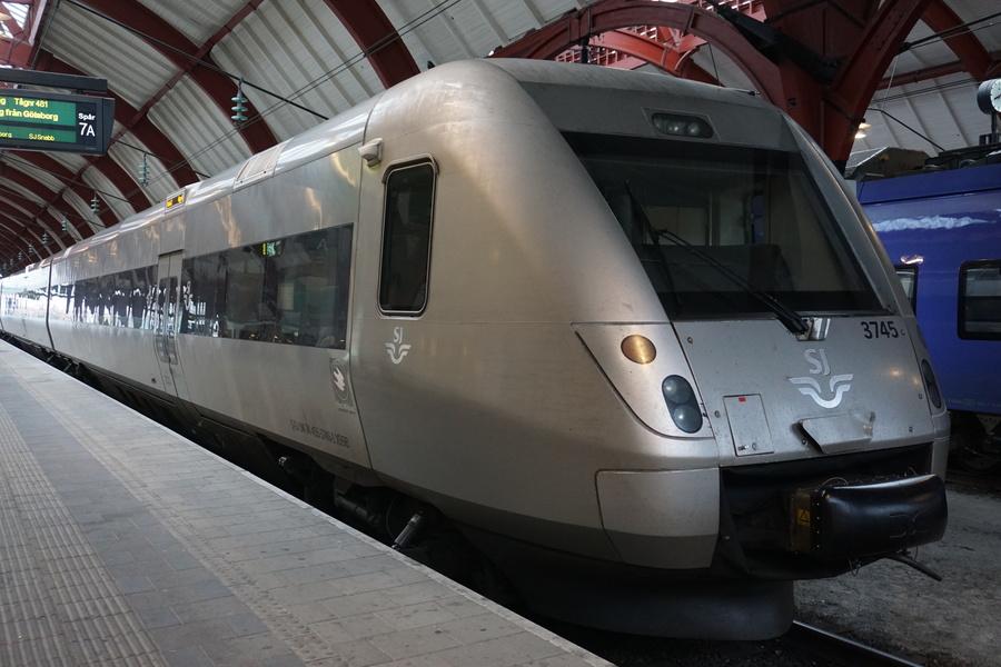 Train Malmö - Göteborg