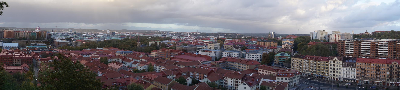 Vue depuis Skansen Kronan